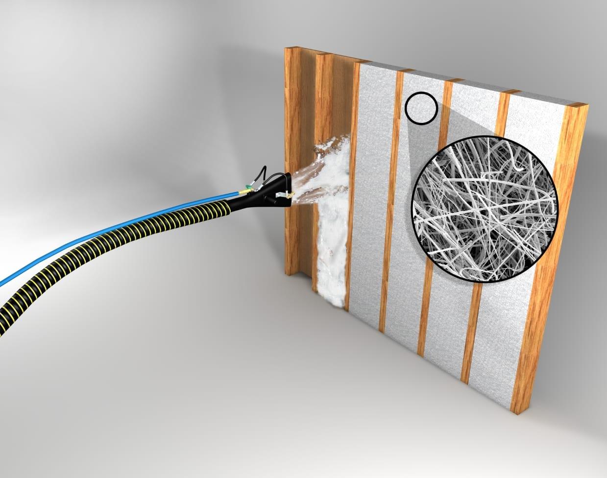 spider insulation graphic